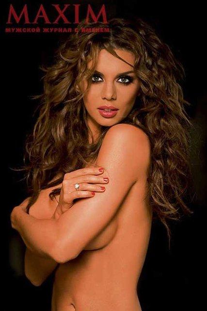 Анна Седокова снялась для Maxim - фото 97518