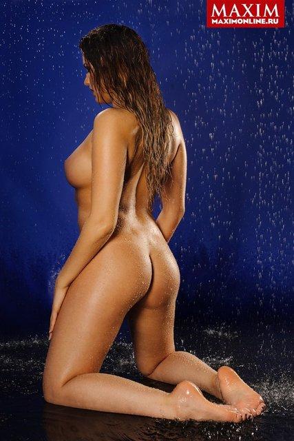Российская спортсменка обнажилась для мужского журнала, фото 18+ - фото 98193