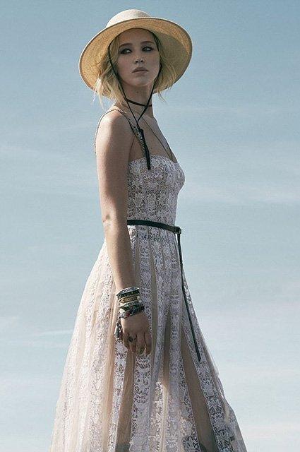 Дженнифер Лоуренс очаровывает в новой рекламе Dior - фото 98516
