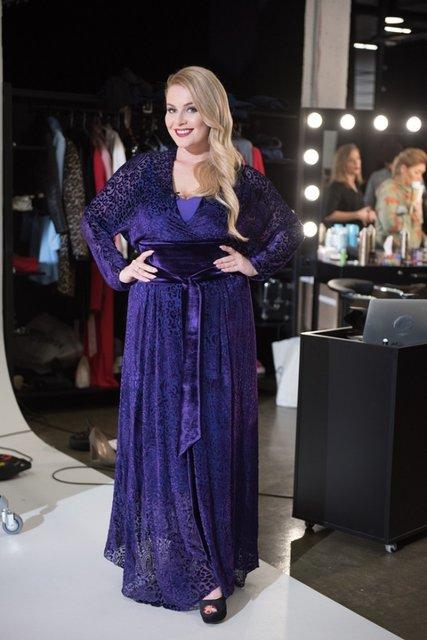 Победительница шоу 'Модель XL' Мария Павлюк появилась на обложке глянца - фото 98641