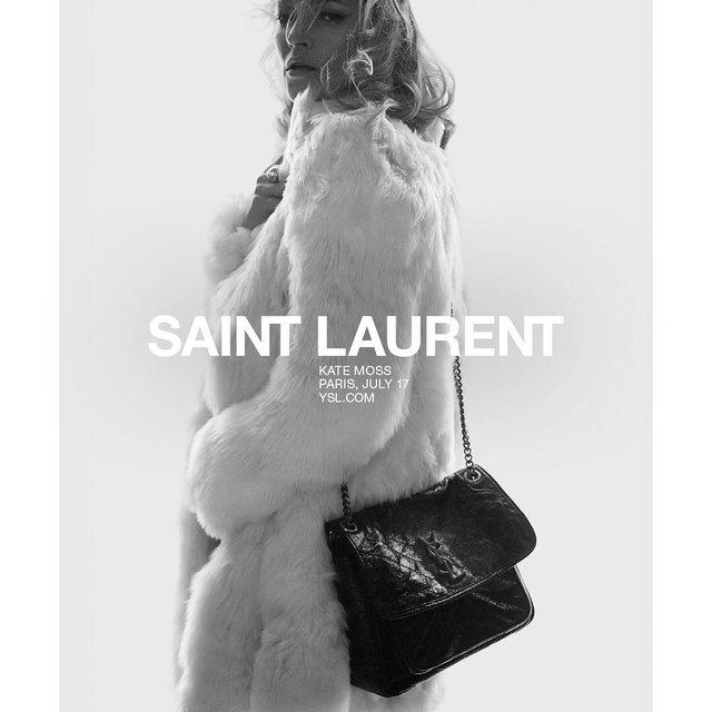Кейт Мосс потрясла соблазнительным образом в рекламе французского бренда - фото 95322