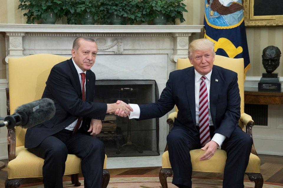 Эрдоган и Трамп общий язык не нашли - фото 104461