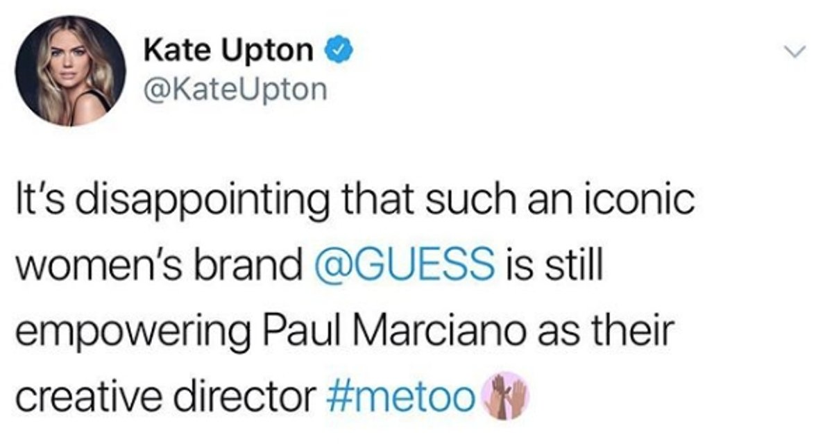 Топ-модель Кейт Аптон обвинила основателя Guess в домогательствах - фото 106072