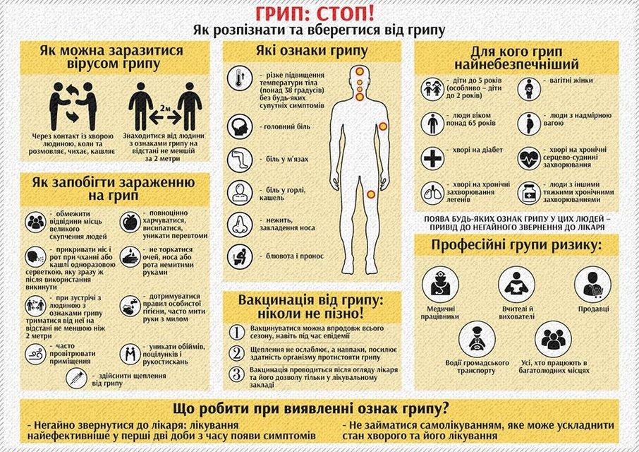 Эпидемия гриппа 2019 в Украине: как подготовиться - фото 105840