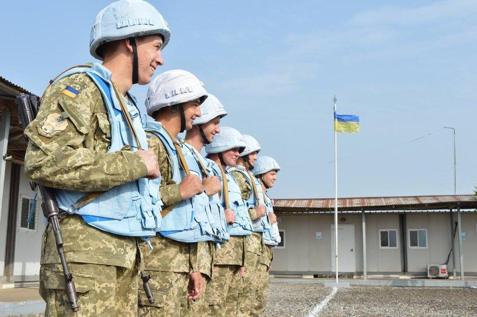Украинские миротворцы завершили участие в миссии ООН - фото 107745