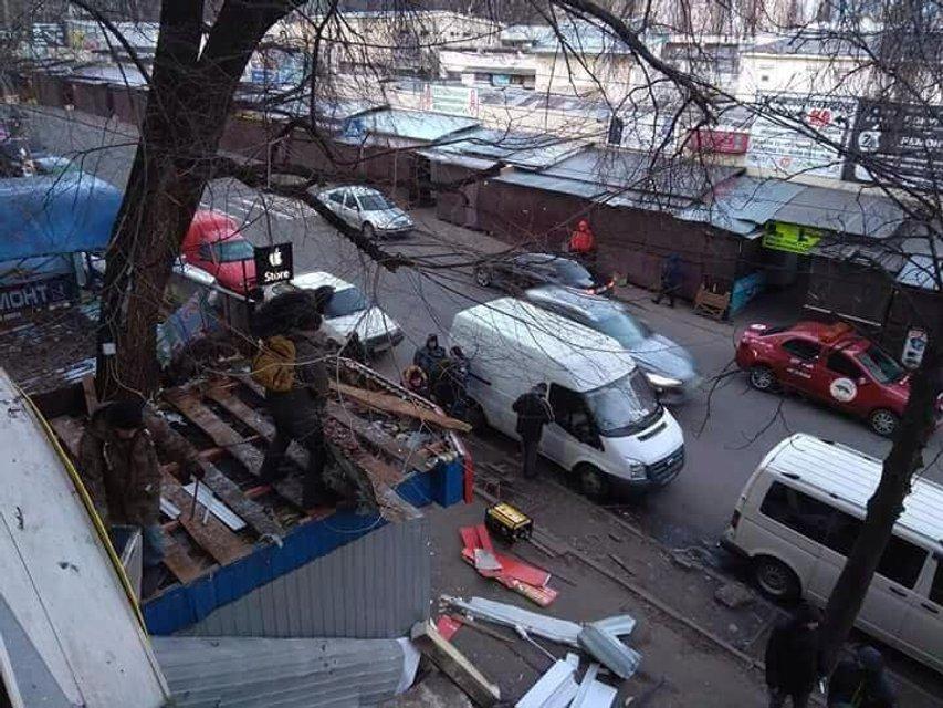 В Киеве Радиорынок зачистили от МАФов - фото 107101