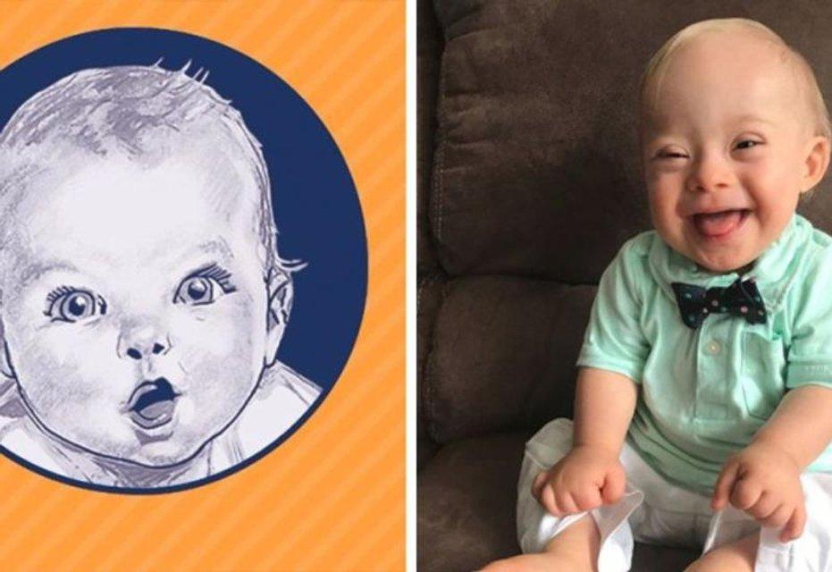 Лицом марки детского питания Gerber впервые стал ребенок с синдромом Дауна - фото 107897