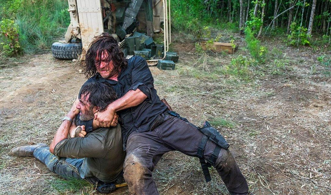 В сети появилось описание последних серий 8 сезона Ходячие мертвецы, СПОЙЛЕРЫ - фото 108015