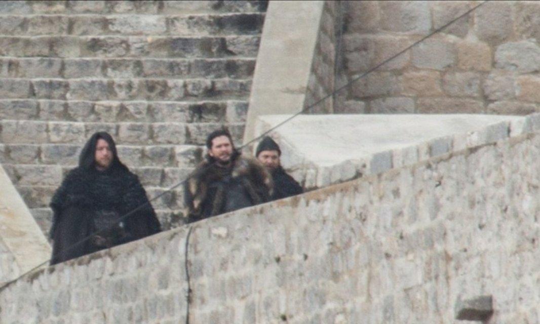 Появились уникальные кадры со съемок 8 сезона Игры престолов - фото 107532