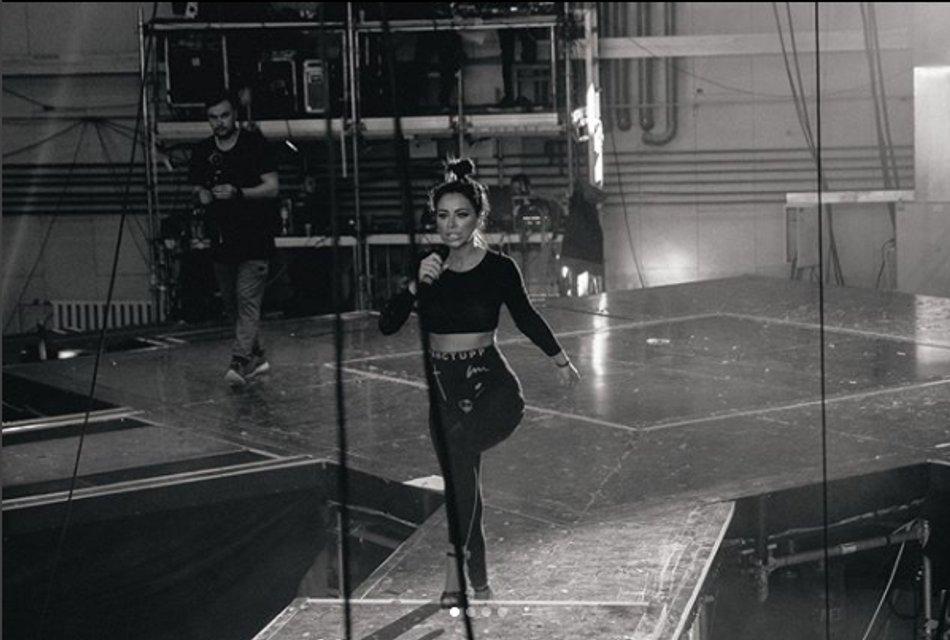 Ани Лорак показала, как готовится к своему новому шоу 'Diva' - фото 106995