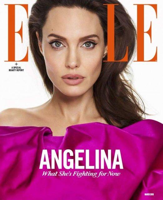 Анджелина Джоли украсила обложку глянца и рассказала о дочерях - фото 107421