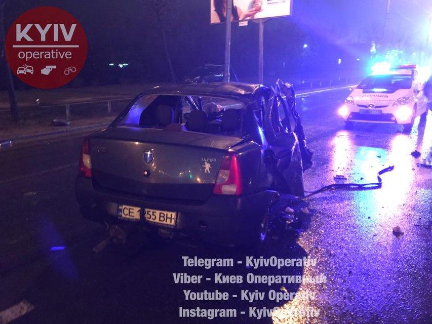 ДТП в Киеве на проспекте Шухевича - фото 106332