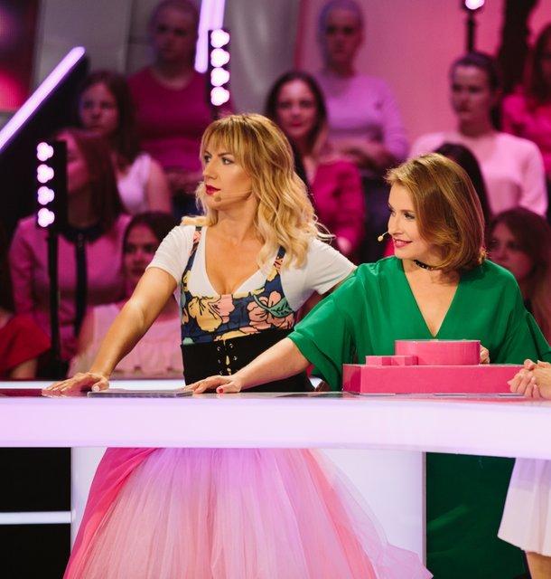 Елена Кравец и Леся Никитюк чуть не провалили съемки шоу - фото 107149