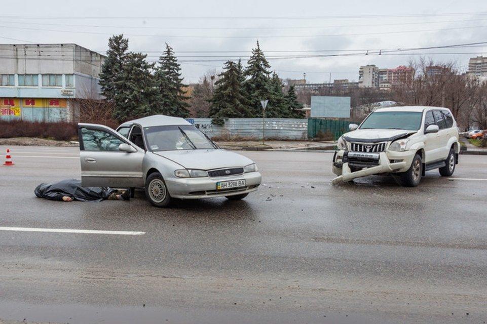 фото с места аварии  - фото 106447