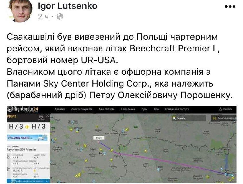 Чартер Порошенко и помощь ЕС: Что произошло после задержания Саакашвили - фото 108195