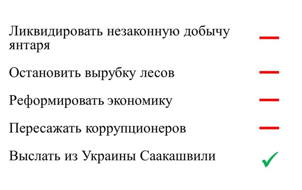 Гимн шута, куплет второй: Мягкая депортация Саакашвили как продолжение спектакля Банковой - фото 108252
