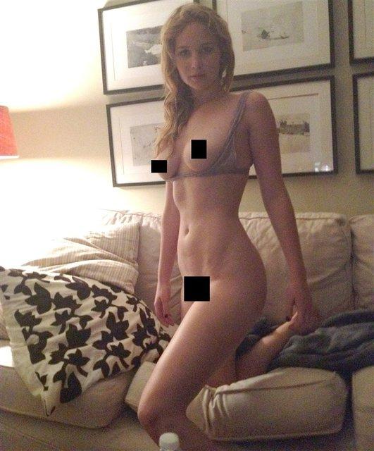 Интимные фото голой Дженнифер Лоуренс слили в сеть, 18+ - фото 106833