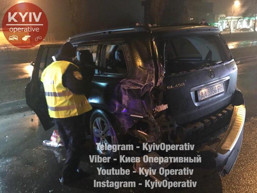 Киевское ДТП, пострадали люди - фото 106336