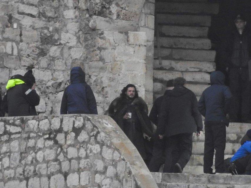 Появились уникальные кадры со съемок 8 сезона Игры престолов - фото 107533