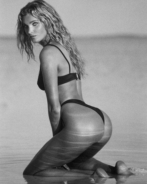 Эльза Хоск снялась в откровенной фотосессии для рекламы купальников - фото 106862