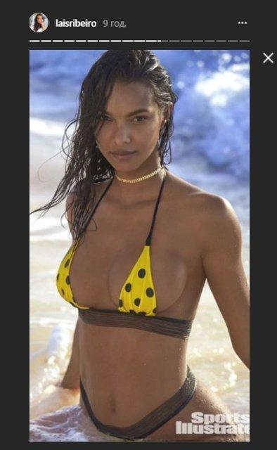 Модель Victoria's Secret Лаис Рибейро удивила фигурой в откровенной фотосессии - фото 108477