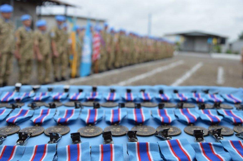 Украинские миротворцы завершили 14-летнюю миссию - фото 107744