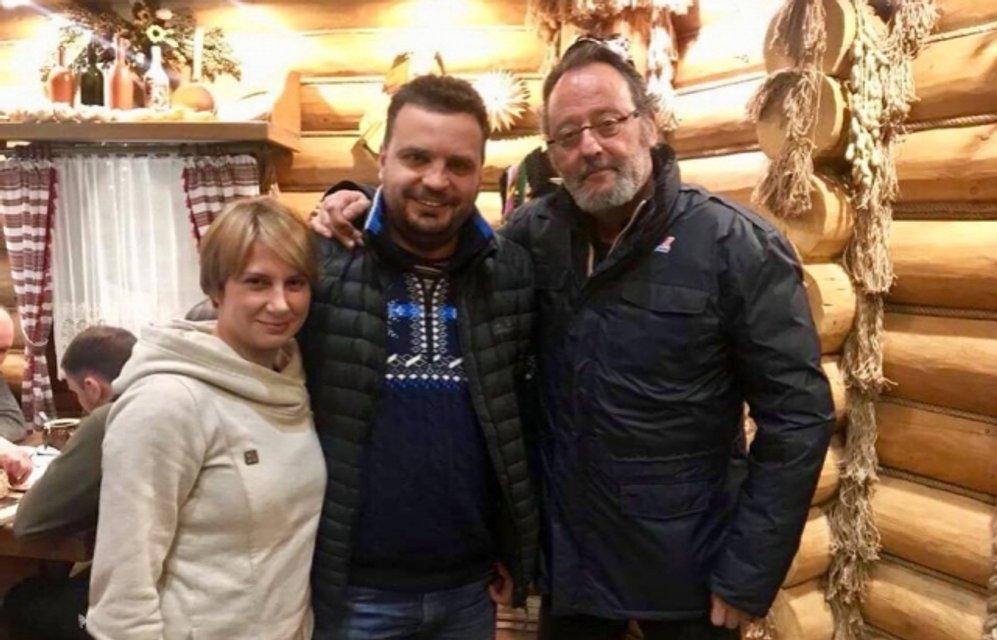 Жан Рено в Карпатах заговорил по-украински - фото 112263