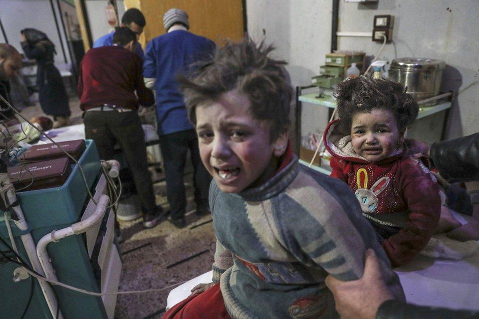 Сирийские дети, которых бомбит авиация Асада при поддержке России - фото 116014