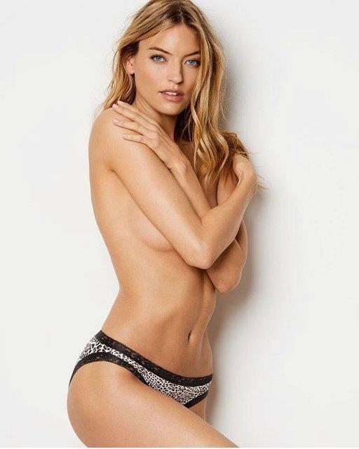 Топ-модель Victoria's Secret поделилась фото топлес - фото 113889