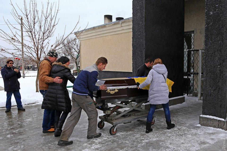 Волошина кремировали в Одессе - фото 115061
