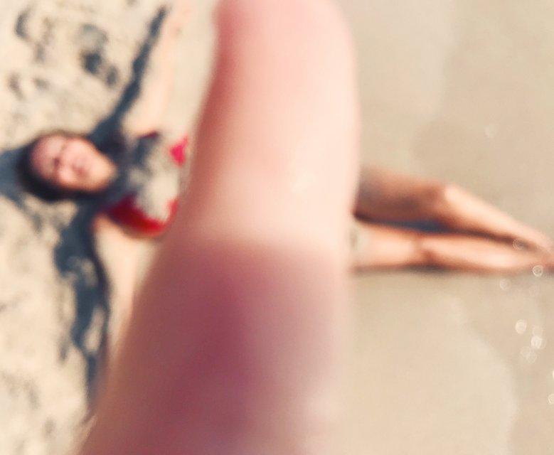 Анна Седокова в купальнике позировала для дочки - фото 118990