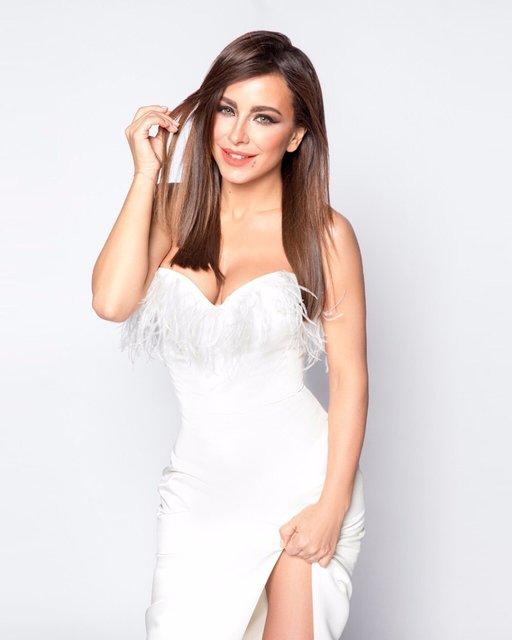 Ани Лорак похвалилась шикарными формами в облегающем платье - фото 121674