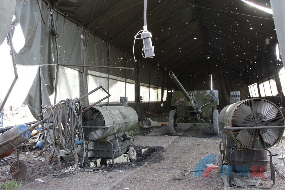 В Луганске взорвалась техника, предназначенная для 9 мая - фото 120090