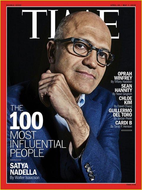 Названы самые влиятельные люди года по версии журнала Time - фото 120800