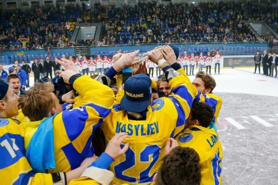 Украинцы выиграли чемпионат мира по хоккею - фото 120948