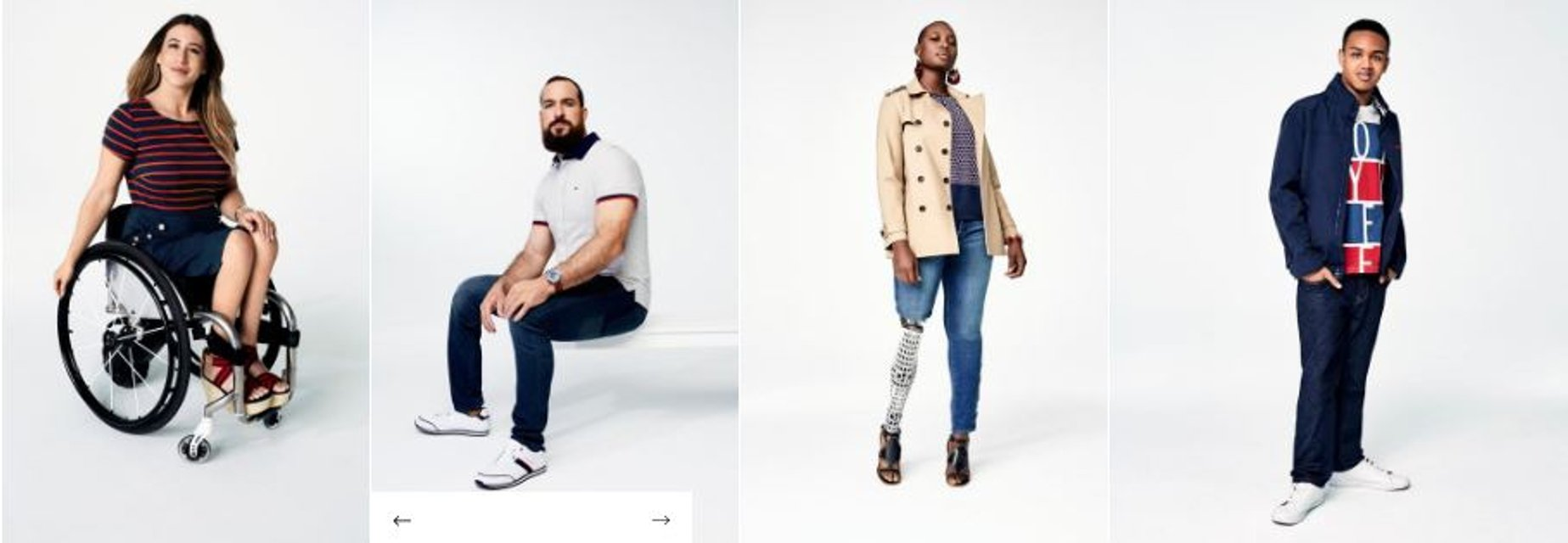 Бренд Tommy Hilfiger выпустил одежду для людей с инвалидностью - фото 118178