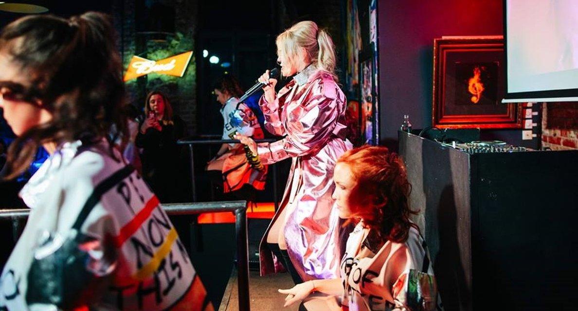 Появились провокационные фото Алины Гросу с премьеры ее альбома Бас - фото 120285