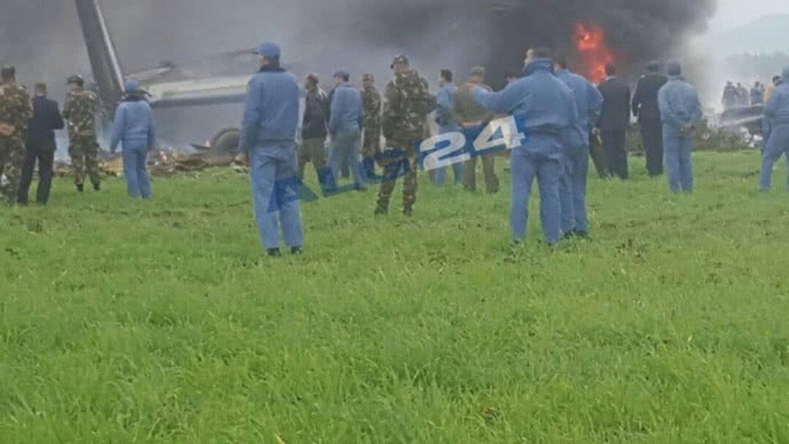В Алжире разбился военный Ил-76, до 200 жертв - фото 118825