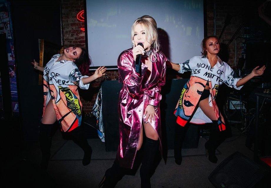 Появились провокационные фото Алины Гросу с премьеры ее альбома Бас - фото 120288
