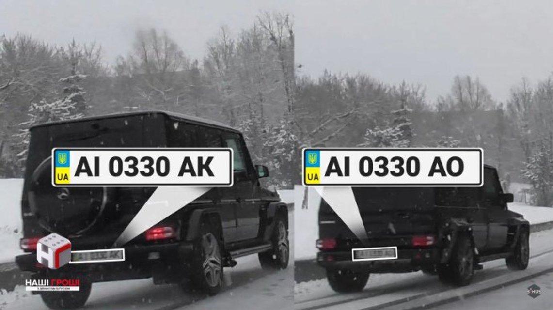 Советник Порошенко регулярно рассекает по парку, через который запрещен проезд - фото 121523