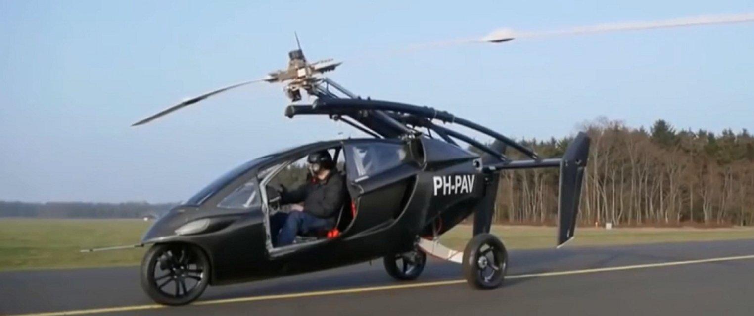 Будущее здесь: в Нидерладах выпустили летающий автомобиль - фото 120238