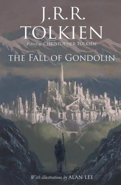 Падение Гондолина: дата выхода новой книги Толкиена и обложка издания - фото 119109