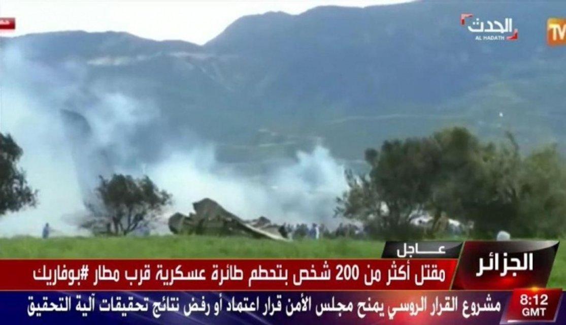 В Алжире разбился военный Ил-76, до 200 жертв - фото 118826