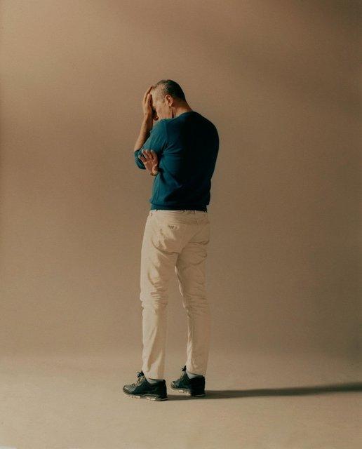 Антонио Бандерас снялся в стильной фотосессии - фото 121436