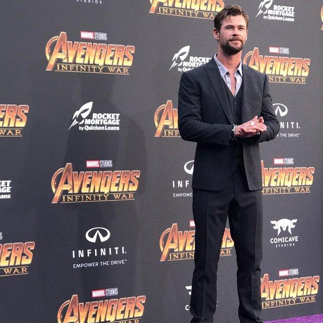 Мстители: Война бесконечности премьера в Голливуде прошла без Криса Эванса - фото 122216