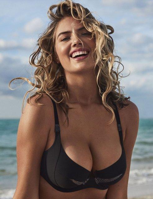 Кейт Аптон снялась в пляжной фотосессии - фото 121048