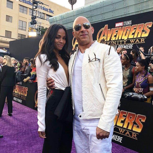Мстители: Война бесконечности премьера в Голливуде прошла без Криса Эванса - фото 122223