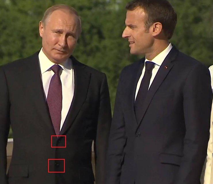 Путин опозорился на встрече с Макроном (ФОТО) - фото 127016