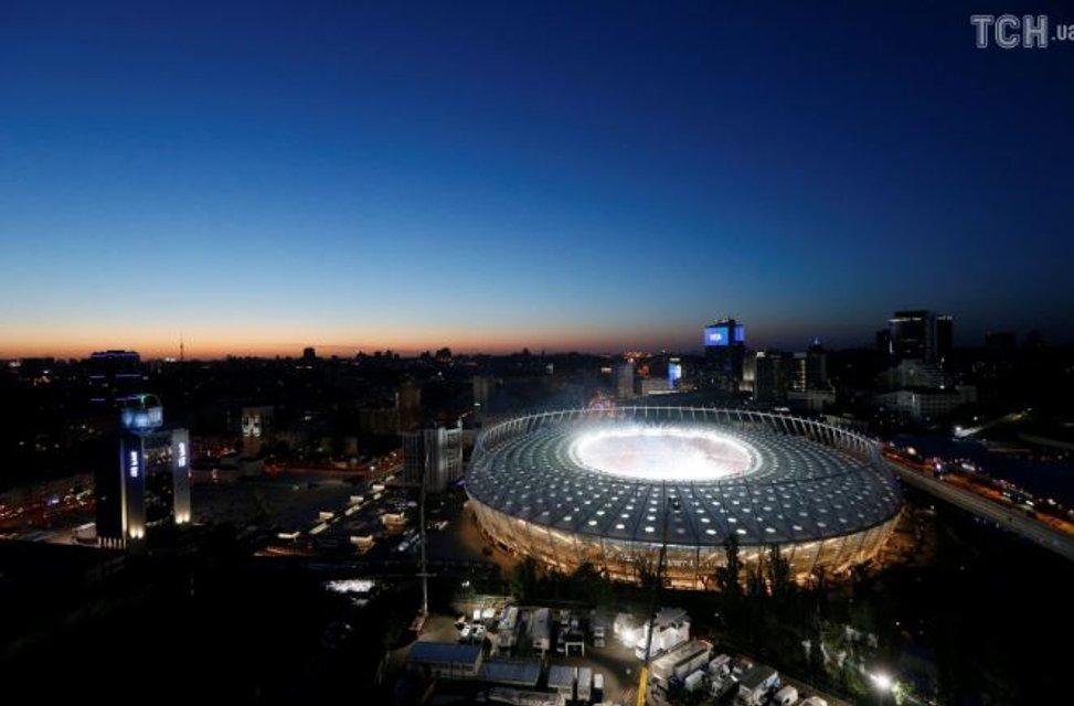 На Олимпийском прошла церемония открытия финала Лиги чемпионов - фото 127458
