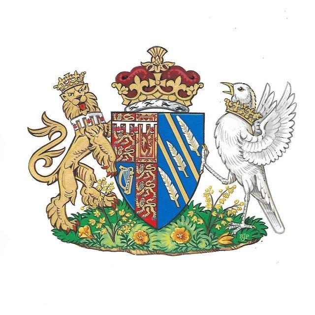 Меган Маркл получила личный герб - фото 127381
